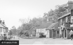 High Street c.1955, East Hoathly