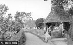 Parish Church And Lychgate c.1960, East Hoathly
