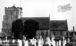 Parish Church c.1960, East Hoathly