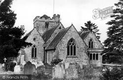 The Church c.1955, East Hoathly