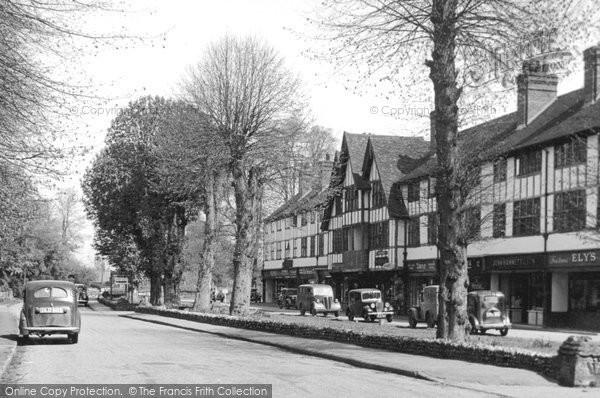 East Horsley, Bishopsmead Parade c1955