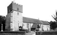East Horsley, St Martin's Church c1955