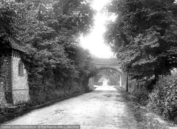 East Horsley, the Railway Bridge 1904