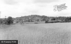 East Knoyle, General View c.1955