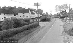 East Knoyle, Shaftesbury Road c.1955