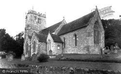 East Knoyle, St Mary's Church c.1955