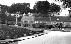 East Knoyle, The Village And Memorial c.1955