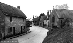 East Knoyle, The Village c.1955