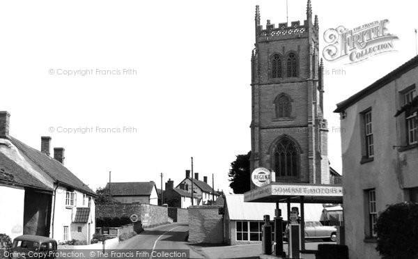 Photo of East Lyng, Church Farm And The Church c.1960