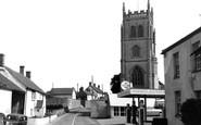 East Lyng, St Bartholomew's Church c1955