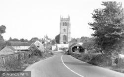 East Lyng, St Bartholomew's Church c.1955