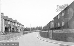 East Lyng, The Council Houses c.1960