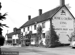 East Lyng, The Rose And Crown c.1955