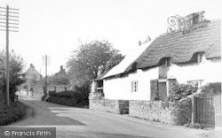 East Lyng, The Village c.1955