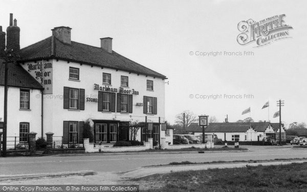 East Markham, Markham Moor Inn c1955