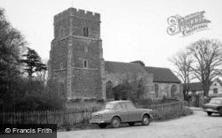 St Edmund's Church c.1960, East Mersea