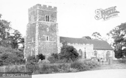 The Parish Church c.1955, East Mersea