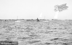 The River Colne c.1955, East Mersea