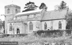 East Pennard, The Church c.1960