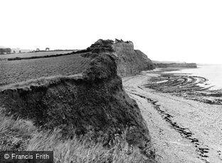 East Quantoxhead, the Cliffs 1929