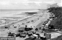 East Runton, The Beach c.1959