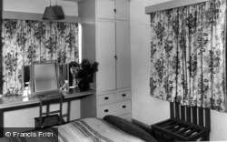 East Wittering, Bedroom, Shore Hotel c.1960