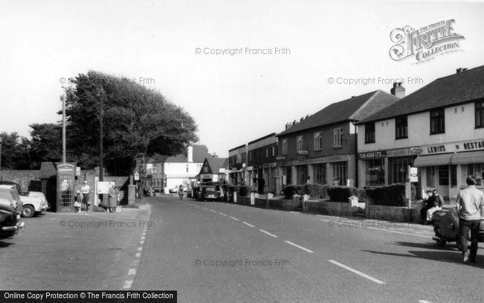 Photo of East Wittering, Cakeham Road c.1965