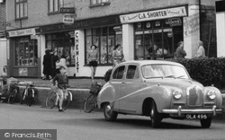 East Wittering, Car c.1960