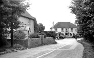 East Wittering, Church Road Corner c1950