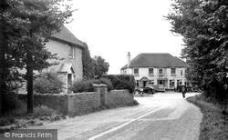 East Wittering, Church Road Corner c.1950