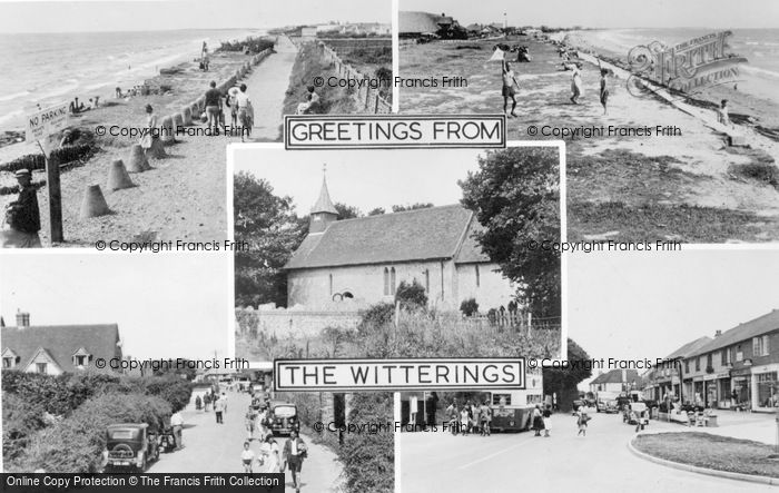 Photo of East Wittering, Composite c.1950