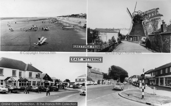 Photo of East Wittering, Composite c.1965