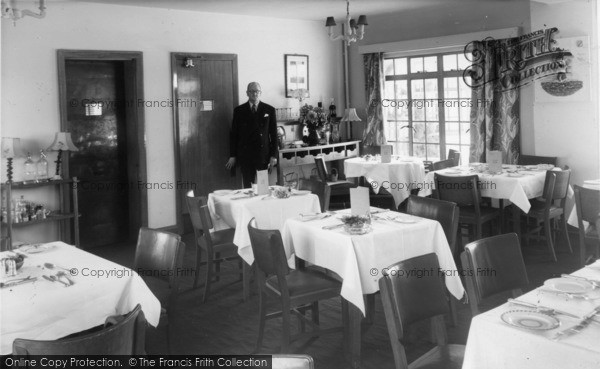 Photo of East Wittering, Dining Room, Shore Hotel c.1960