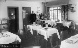East Wittering, Dining Room, Shore Hotel c.1960