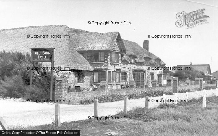 Photo of East Wittering, Old Barn Hotel c.1950