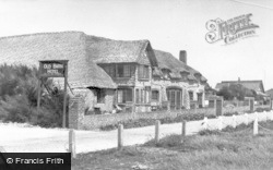 East Wittering, Old Barn Hotel c.1950