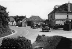 East Wittering, Royal Oak Corner c.1950
