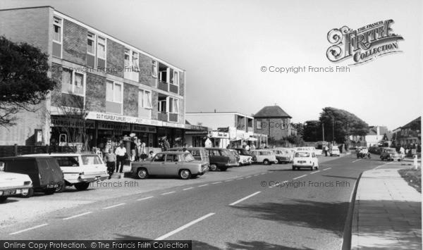 Photo of East Wittering, Shopping Centre c.1965