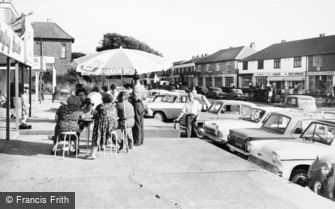 East Wittering, Shopping Centre c1965