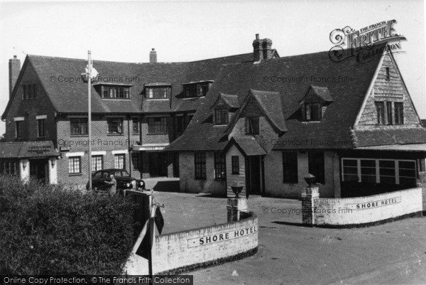 Photo of East Wittering, Shore Hotel c.1960