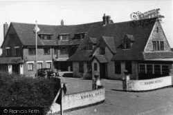 East Wittering, Shore Hotel c.1960