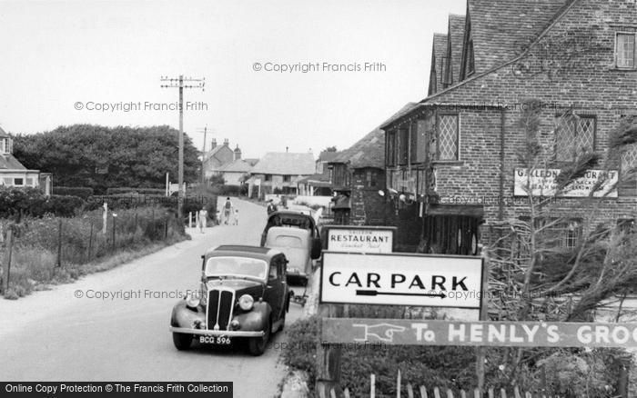 Photo of East Wittering, Shore Road c.1950