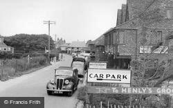 East Wittering, Shore Road c.1950