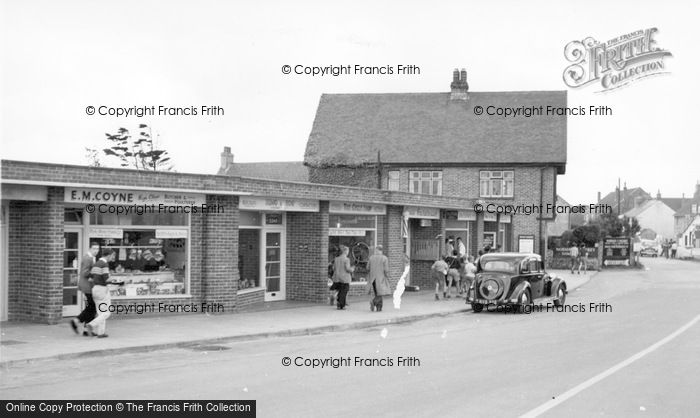 Photo of East Wittering, Shore Road c.1960