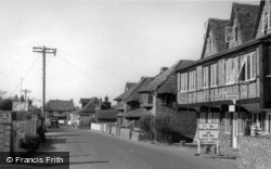 East Wittering, Shore Road c.1960