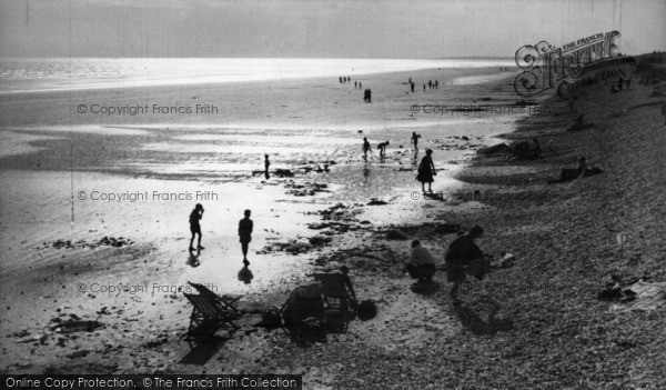 Photo of East Wittering, Sunset c.1955