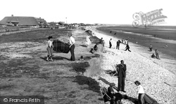 East Wittering, The Beach And East Cliffs c.1955