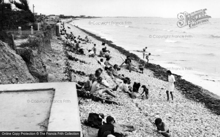 Photo of East Wittering, The Beach c.1950