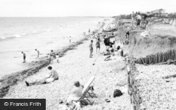 East Wittering, The Beach c.1950