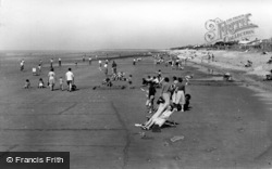 East Wittering, The Beach c.1955